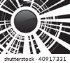 abstract button background - stock vector