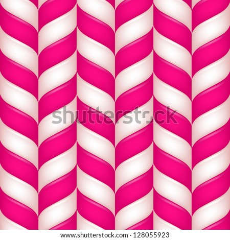 Abstract candys seamless background - stock vector