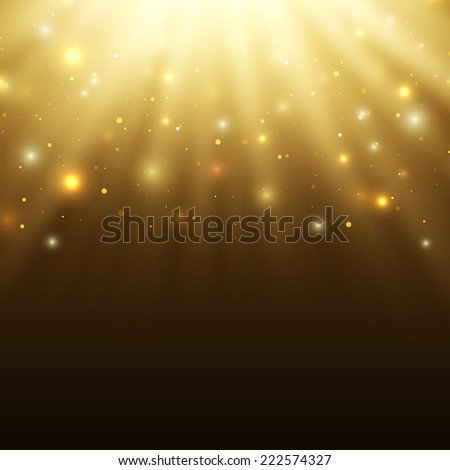 Abstract celebration background with particles and rays.Perfect tamplete for your projects. Vector illustration - stock vector