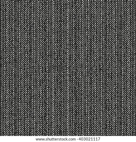 Abstract charcoal melange fabric texture. Seamless pattern. - stock vector