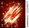 Abstract christmas background. Vector - stock vector