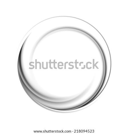 Abstract circle black background. Vector logo eps 10 - stock vector
