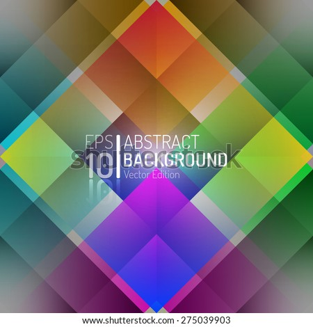 Abstract Color Background Design. Vector Elements. Creative Isolated Wallpaper Illustration. EPS10 - stock vector