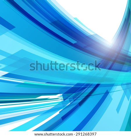 Abstract color light background easy editable - stock vector