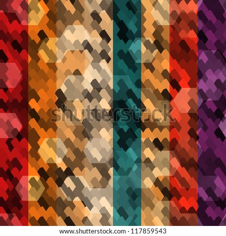 abstract color scale seamless - stock vector
