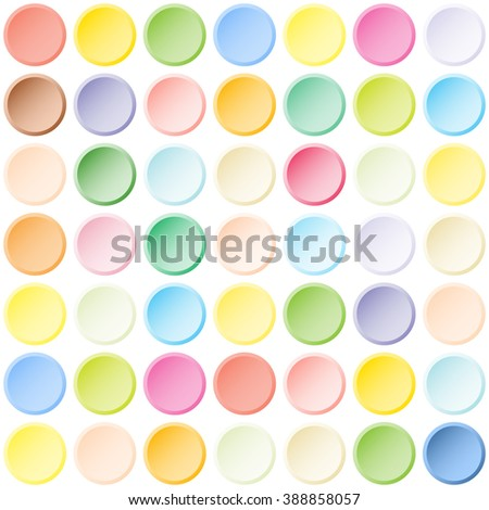 Abstract color tiles vector seamless pattern - stock vector