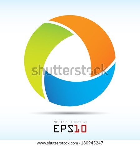 Abstract colorful background,design element.eps10 - stock vector