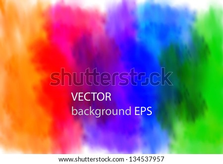 Abstract colorful background, easy editable - stock vector
