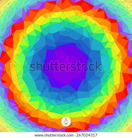 Abstract colorful background. Mosaic. Vector illustration. Can be used for banner, flyer, book cover, poster, web banners.  - stock vector