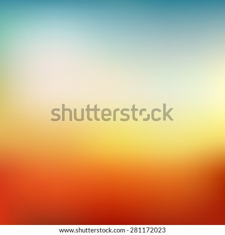 Abstract colorful blurred vector backgrounds. Smooth Wallpaper for website, presentation or poster design - stock vector