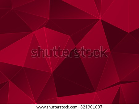 Abstract Colorful Low poly Vector Background | EPS10 Design - stock vector