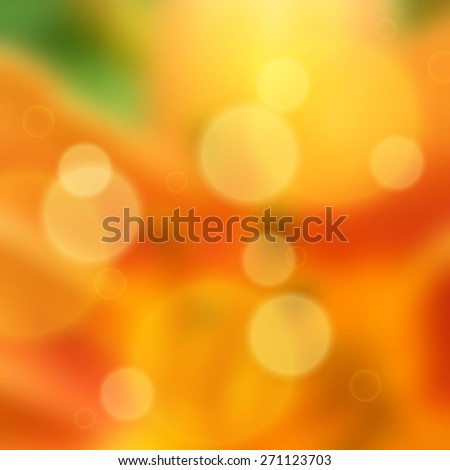 Abstract colorful summer background with blurred effect. EPS10 vector illustration - stock vector