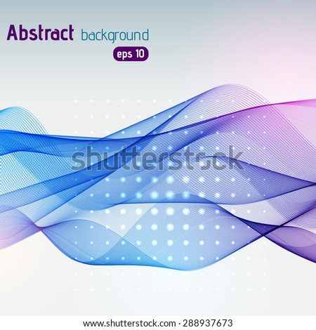 Abstract colorful template vector background - stock vector