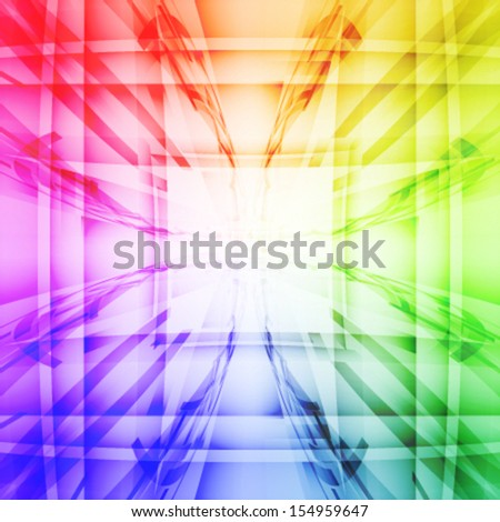 Abstract colorful vector background. EPS10. - stock vector
