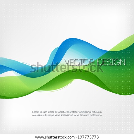 Abstract colorful vector template background.  - stock vector