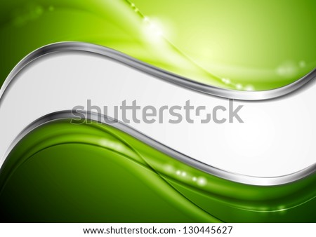 Abstract colourful wavy background. Vector steel design eps 10 - stock vector