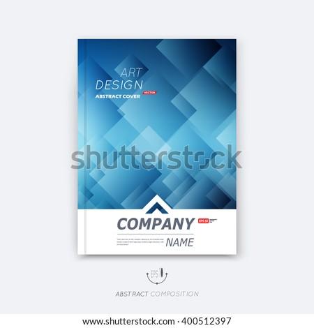 Abstract composition, blue cosmic sky quadrate font texture, square part construction, a4 brochure title sheet, creative tetragon figure icon, commercial logo surface, firm banner form, flier fiber - stock vector