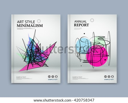 Abstract composition. Pink, blue, green texture. Grunge triangle part construction. white brochure title sheet. Creative figure icon, Circles surface. Round section banner form. Bubbles flyer font. - stock vector