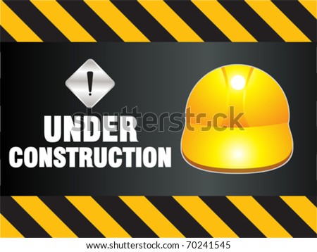 abstract construction background vector illustration - stock vector