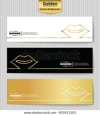 Abstract Creative concept gold vector background for Web and Mobile Applications, Illustration template design, business infographic, page, brochure, banner, presentation, poster, booklet, document. - stock vector