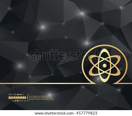 Abstract Creative concept vector background for Web and Mobile Applications, Illustration template design, business infographic, page, brochure, banner, presentation, booklet, document. - stock vector
