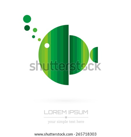 Abstract Creative concept vector image logo for web and mobile applications isolated on background, art illustration template design, business infographic and social media, icon, symbol - stock vector