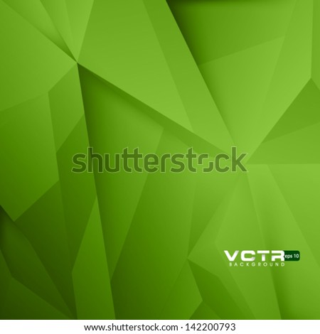 Abstract Crystallized Background - stock vector