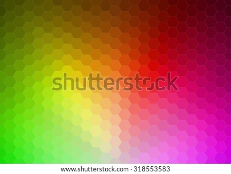 Abstract 2D mosaic triangle background for web - stock vector