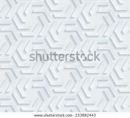 Abstract 3d seamless background. Vector EPS10. See others in a Perforated Paper Set.  - stock vector