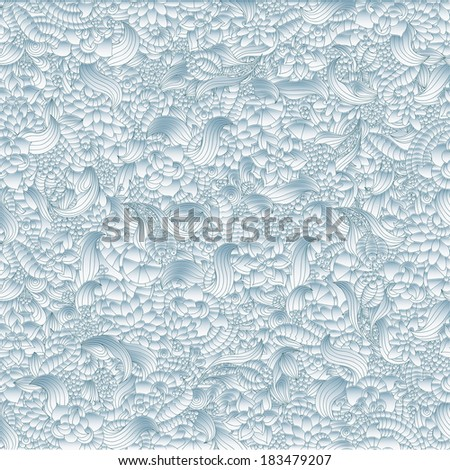 Abstract 3d Seamless Pattern. - stock vector