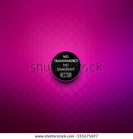 Abstract dark purple background, geometric style design - stock vector