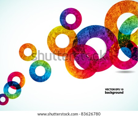 abstract design background. vector - stock vector