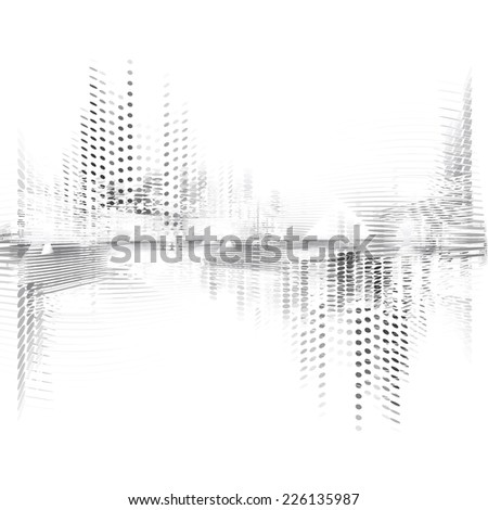 Abstract digital background. - stock vector