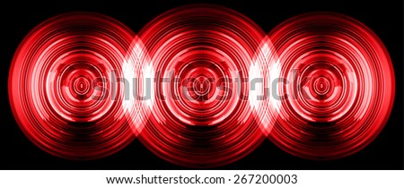 abstract digital sound wave pattern background. dark red Light Abstract Technology background for computer graphic website internet and business. circuit. vector - stock vector