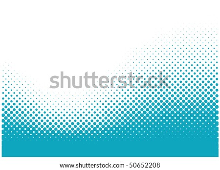 Abstract dots vector background. Halftone. - stock vector