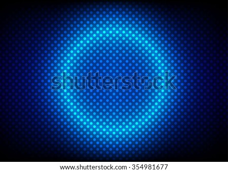 abstract Dotted pattern background. Vector Illustration. - stock vector