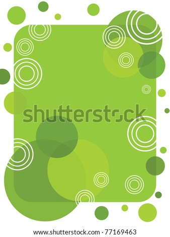 abstract environment concept background, vector illustration - stock vector