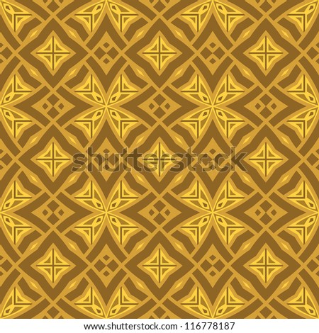 abstract ethnic modern geometric seamless pattern ornament background print design pattern background - stock vector