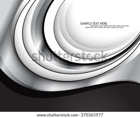 abstract flat layout material metallic background - stock vector