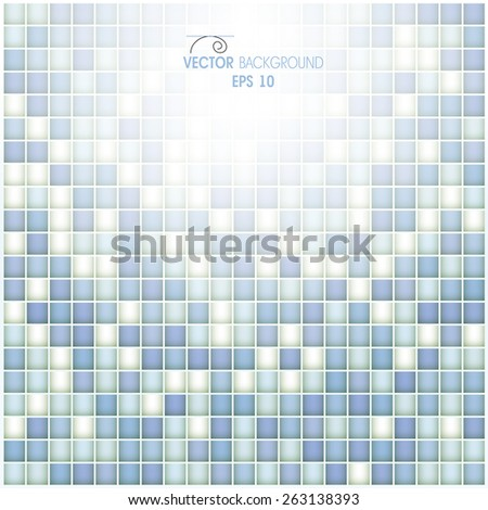 Abstract forms from cells - stock vector