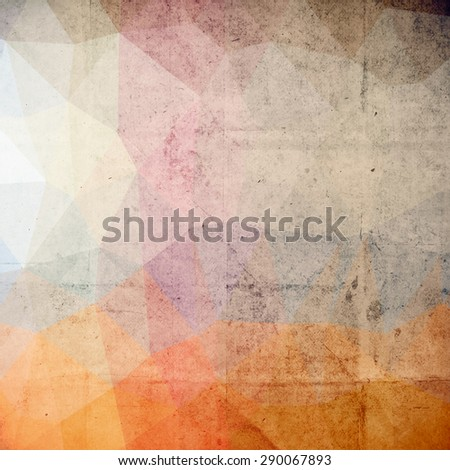 abstract futuristic art background,  vector grunge paper texture - stock vector