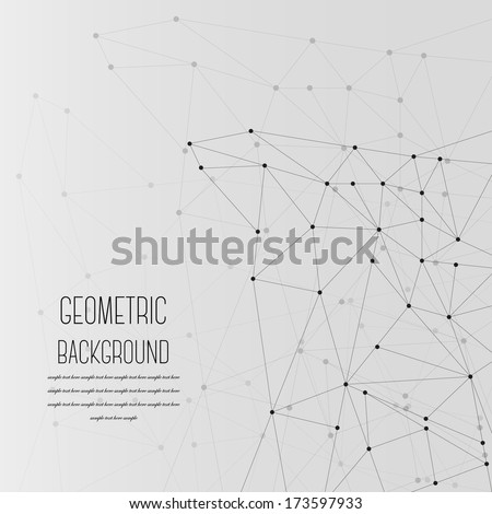 Abstract Geometric Background - EPS 10 - stock vector