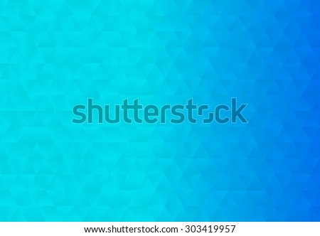 Abstract geometric background.Polygonal, low-poly, triangular  background.Vector illustration. - stock vector
