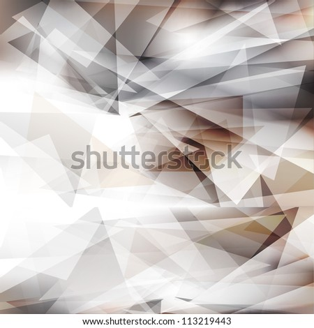 Abstract geometric background.Vector eps 10 - stock vector