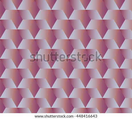 Abstract geometric background with cubes - stock vector