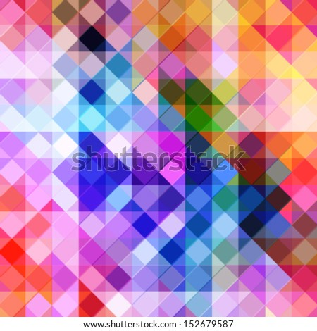 abstract geometric background with vibrant geometric shapes. futuristic abstract background, technology business presentation cover - stock vector