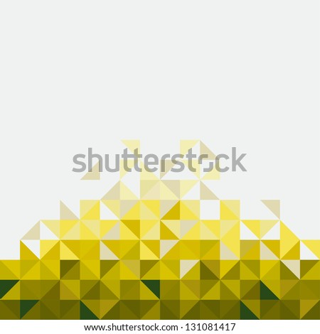 Abstract, geometric backgrounds. - stock vector