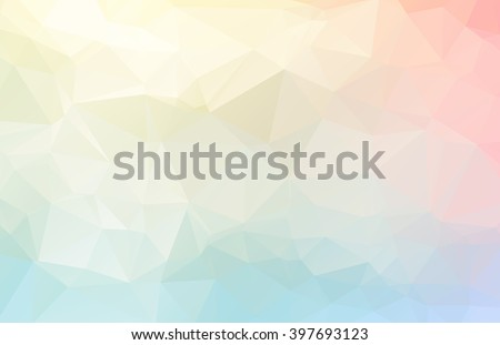 Abstract Geometric backgrounds full Color - stock vector