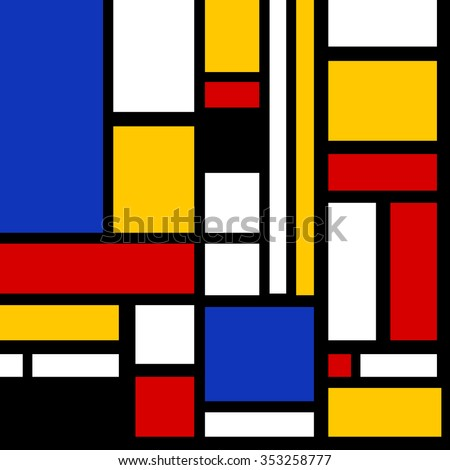 Abstract geometric colorful vector pattern for continuous replicate vector - stock vector