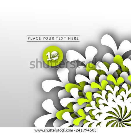 Abstract geometric element with colorful gradients vector background. - stock vector